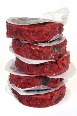 Stuffed hamburger steaks Reklamní fotografie
