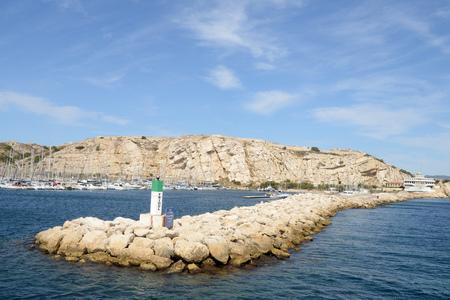 Port of Friuli dike