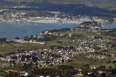 Aerial view of La Trinit?-sur-Mer
