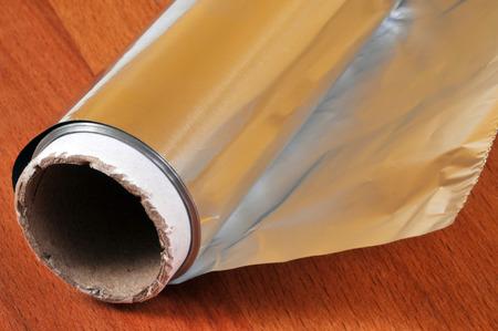 Roll of aluminum foil