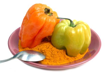 Cayenne pepper Banque d'images - 115597230