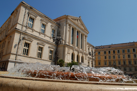 Nice Courthouse Standard-Bild - 116164822