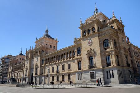 Cavalry Academy Square Zorilla in Valladolid