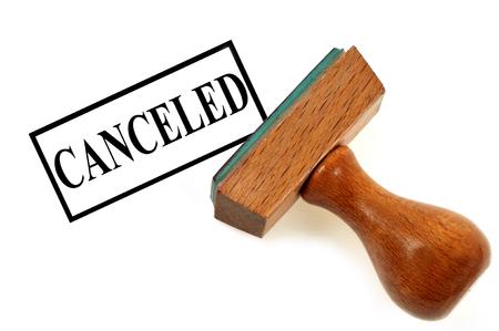 Canceled stamp