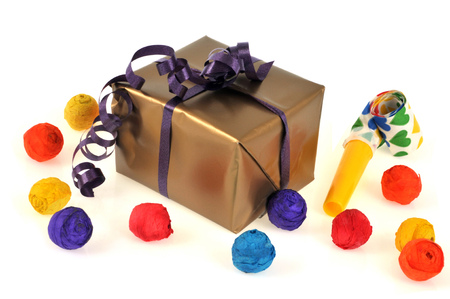 Gift and party package Banque d'images - 116304159
