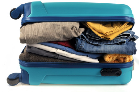 Suitcase too full Stok Fotoğraf - 117815771