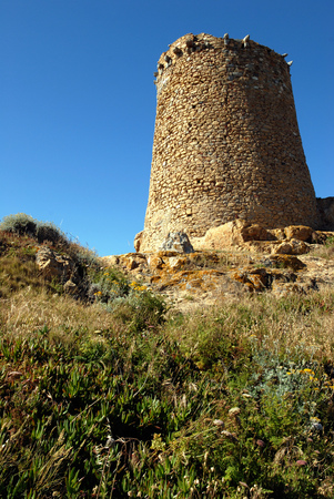 Genoese tower in Corsica