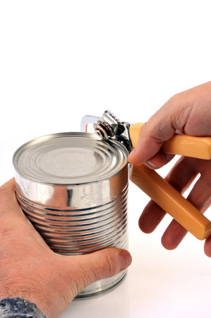 Open a tin can