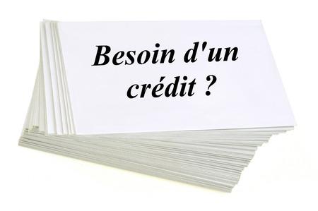 Need a credit Banco de Imagens