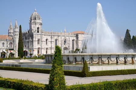 Monastère des Hiéronymites à Lisbonne Banque d'images