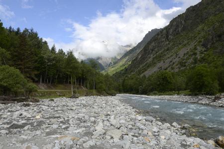 River S?veraisse, France