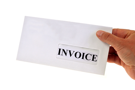 Invoice received by mail