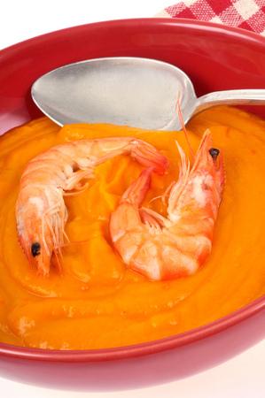 Cream of shrimps