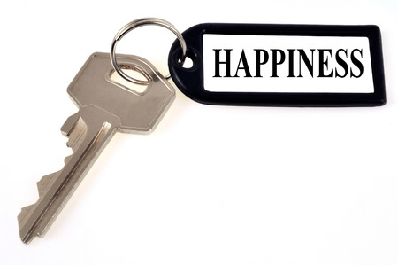 The key to happiness Banco de Imagens - 120323964