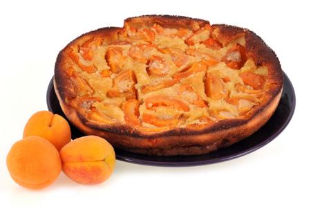 Apricot pie Imagens