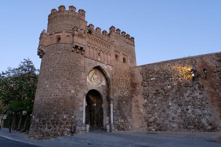 Gate of the Sun in Toledo, Spain Imagens