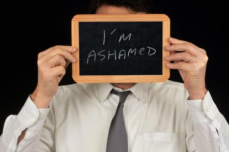 Im ashamed