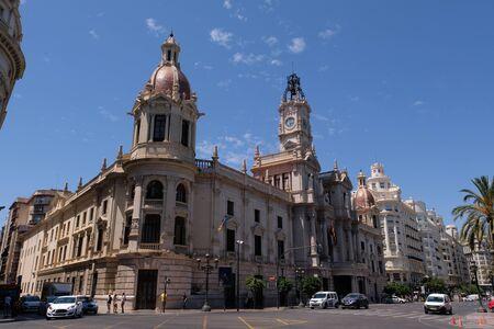 Valencia City Hall in Spain