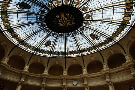 Dome of the central post office in Valencia