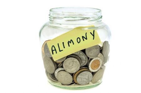 Save in a glass jar to pay alimony