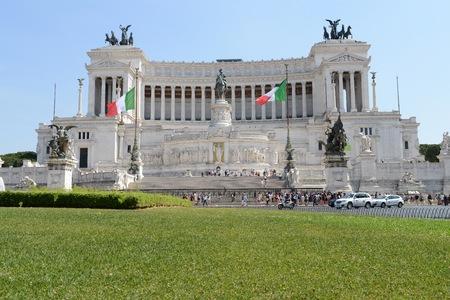 Palace Victor Emmanuel II in Rome