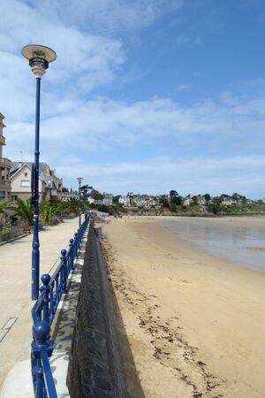 Beach of Saint Lunaire Banco de Imagens
