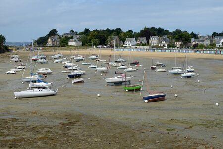 Beach of Bechet in Saint-Briac in Brittany