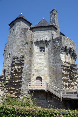 The constables tower in Vannes