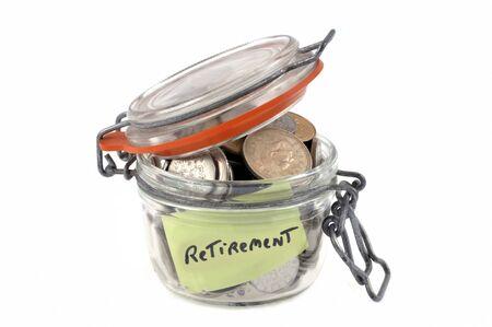 Savings for retirement