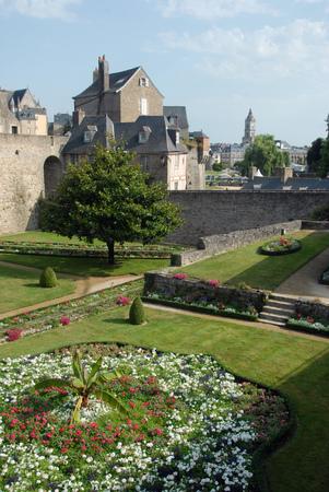 Garden of the ramparts of Vannes Editorial