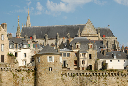 Cathedral and ramparts of Vannes