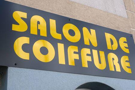 Sign of a hairdresser