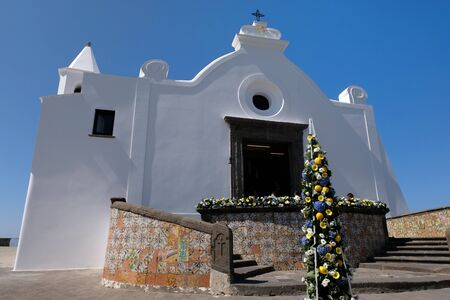 Church of Help in Forio Stock Photo