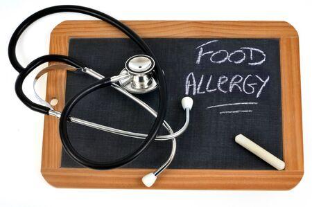 Food allergy concept Stock Photo - 131794757