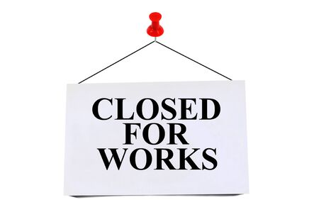 Closed for works