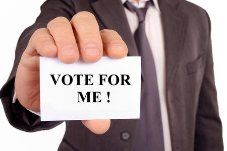 Vote for me Stock fotó