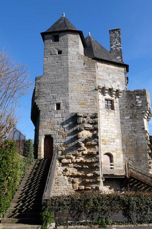 The tower of the Constable of the city of Vannes