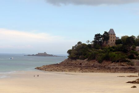 House on the Pointe du Moulinet in Dinard