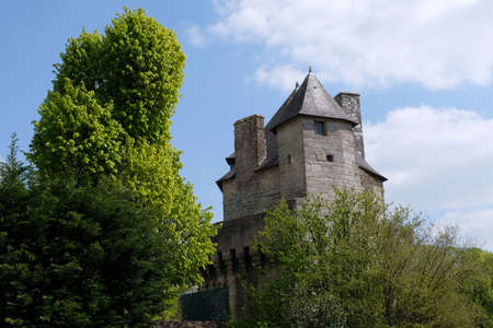 The Constable's Tower in Vannes in Brittany