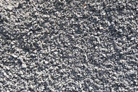 Close up on gravel background