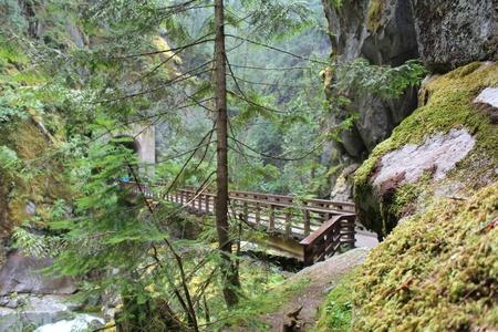 Bridge Crossing Gorge