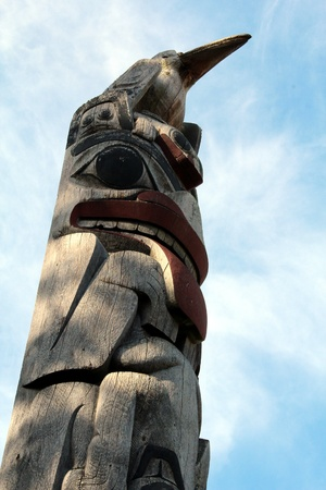 haida indian: Totem Pole