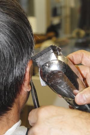 barbershop: Trimming Hair