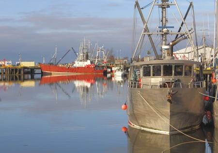Barco de pesca comercial Foto de archivo - 11518423