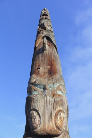 first nations: First Nations Totem Pole