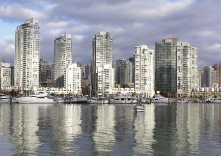 Vancouver Condominiums Stock Photo