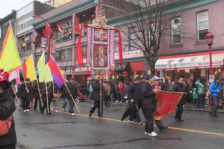 marchers: Vancouver Chinese Parade Editorial