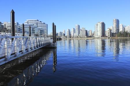 seabus: Pier on False Creek, Vancouver