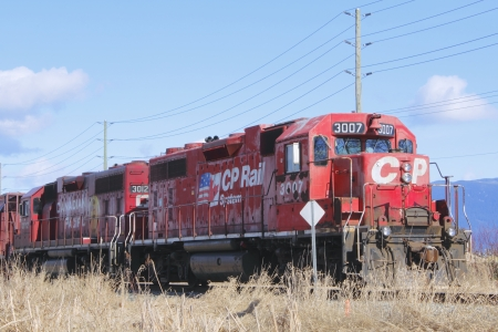 canadian pacific: Canadian Pacific Train