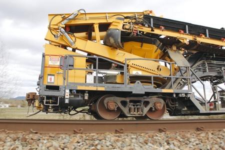 Railway Track Maintenance Voertuig 2